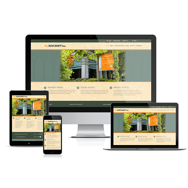 The Roycroft Inn Website Redesign