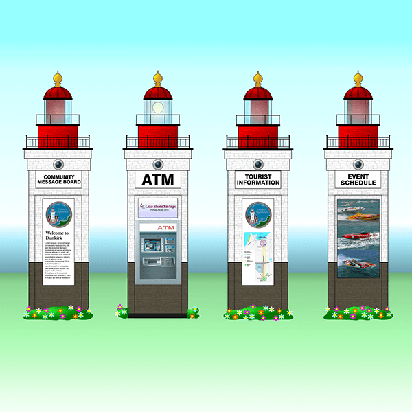 Dunkirk Lighthouse ATM Design